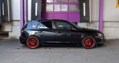Großer Sport für alle Mazda 3 MPS: Auch für die BK-Modellreihe sind die ST Gewindefahrwerke erhältlich