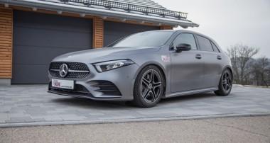 Aktuelle Mercedes-Benz A-Klasse wird dynamischer: KW Variante 3