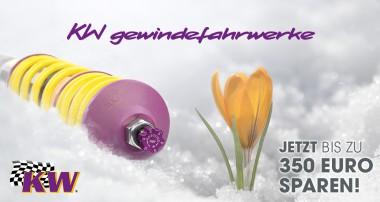 KW Spring Sales 2019 – jetzt bis zu 350 Euro abstauben!
