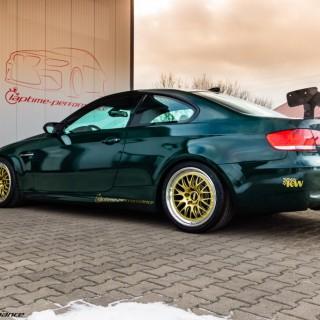 Volles Clubsport-Programm für einen BMW M3 mit Kompressor-Power!