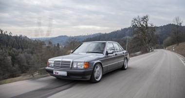 Neu: In Druck- und Zugstufe einstellbares KW Klassik Fahrwerk für Mercedes-Benz 190 (W201)