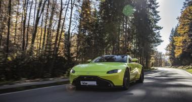 Mit der Lizenz zum Tieferlegen: KW Gewindefedern für Aston Martin Vantage