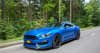 Jetzt für das Faceliftmodell des Ford Mustangs (LAE) erhältlich: ST Gewindefahrwerke, ST Federn und ST Distanzscheiben
