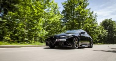 KW Gewindefahrwerk mit adaptiver Dämpferregelung für Alfa Romeo Giulia Quadrifoglio