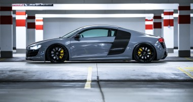 Super Facelift und Performance-Stance am Audi R8