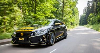 Das ST XTA macht den aktuellen Honda Civic Type R (FC) zum Kurvenakrobat!