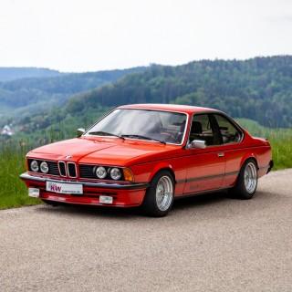Moderner Fahrkomfort und  mehr Fahrdynamik für alle klassischen BMW Sechser (E24)