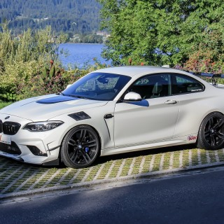 BMW Tuning nach alter Schule: Floßmann-Leichtbau-M2