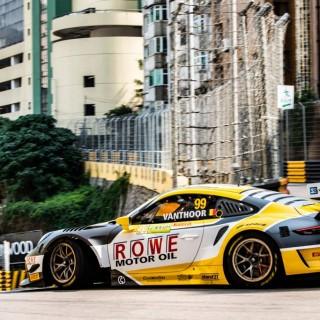 Rowe Racing feiert mit KW Motorsportkunde Porsche großartiges Doppel-Podium in Macau!
