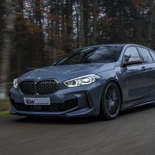KW Gewindefahrwerke für neuen BMW M135i xDrive (F40) im Angebot