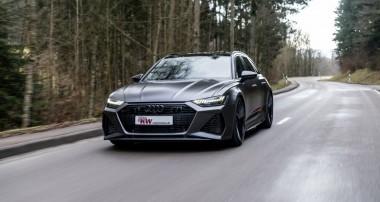 In der Höhe einstellbare KW Federn für den neuen Audi RS6 (C8, F2)