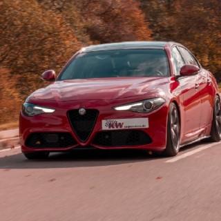 Mit oder ohne Allradantrieb: Für alle Alfa Romeo Giulia (952) haben wir KW Gewindefahrwerke im Angebot