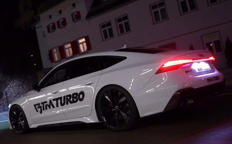 Fahrkomfort und Fahrdynamik für Audi RS7: Das KW Gewindefahrwerk Variante 4 überzeugt im Alltag