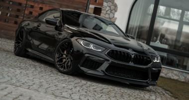 Für alle BMW M8 (F92) erhältlich: das KW Gewindefahrwerk Variante 4