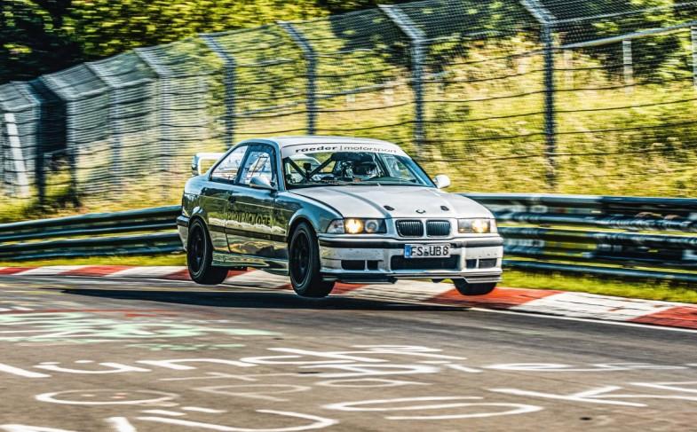 """""""Nordschleife-BTG"""": 7:17 min im 321 PS starken BMW M3 (E36) mit KW Competition 4A – und Dein Herz schlägt schneller"""