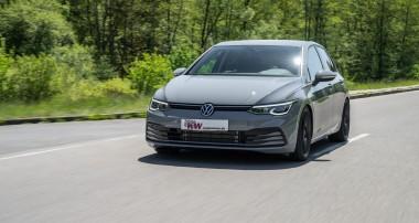 KW Gewindefahrwerke für den neuen VW Golf 8: Für jeden Golffahrer das richtige Fahrwerk
