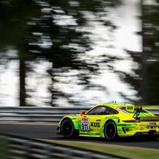 NLS: Manthey-Racing wird 13. aufgrund einer Zeitstrafe