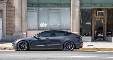 Alles zum Tesla Model 3 Gewindefahrwerk von KW