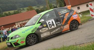 Rallye: Zweiter Platz für Gaas Racing in Scheßlitz