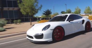 Porsche 991 von Vivid Racing mit Gewindefedern und HLS