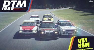 """Sport-Legenden: """"DTM 1992"""" Content-Pack für RaceRoom Racing Experience"""