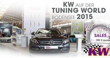 TUNING WORLD BODENSEE 2015: Best of Tuning in Halle B3 Stand 300