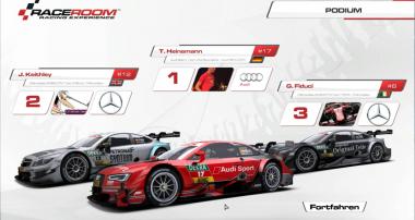 DTM 2015 Virtual Championship: Aktueller Stand nach Runde 1
