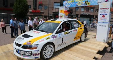 """Rallye: """"Hattrick"""" perfekt für KW Competition Fahrer Rainer Noller"""