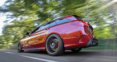 Mehr Grip für den neuen Mercedes-AMG C63 dank KW Gewindefahrwerk