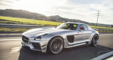 Prior Design verschärft den SLS AMG mit einem Widebody-Kit