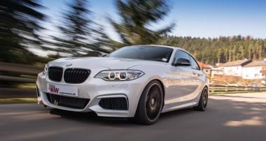 Neu: KW Gewindefahrwerke für alle BMW 2er Coupés mit xDrive