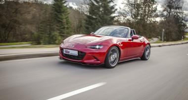 KW weckt das volle Potential des neuen Mazda MX-5: KW Clubsport und Variante 3 erhältlich