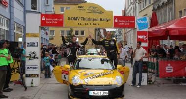 Rallye: Noller siegt beim ADAC Rallye Masters in Thüringen
