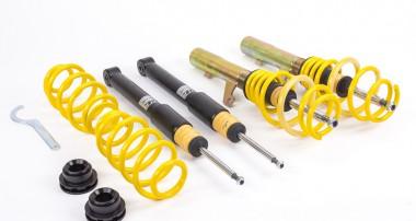 Volles Fahrwerkangebot für aktuellen VW T6 von ST suspensions
