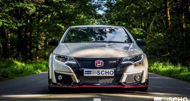"""Verführung in """"Championship White"""" – der neue Civic Type R GT mit KW V3"""