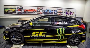 ST XTA Gewindefahrwerk mit Unibal-Stützlager für neuen Ford Focus RS