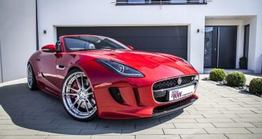 Erweitertes Fahrwerkprogramm für Jaguar F-Type!