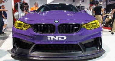 Frisch von der SEMA 2016: der mächtige M4 GTS Plus von IND Distribution