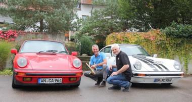 Sneak Preview: Der Porsche Club für den klassischen 911 Südwest e.V. fuhr exklusiv unsere V3 Dämpfer