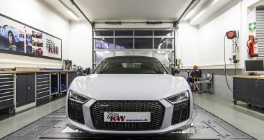 KW Gewindefedern: Höhenverstellbare Federn für Audi R8 Modelljahr 2016