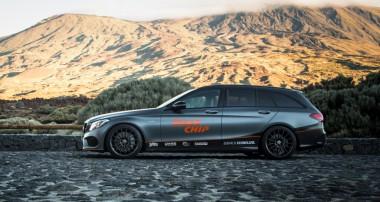 KW Gewindefedern im RaceChip Mercedes-Benz AMG C43 4Matic