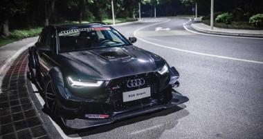 """""""Olsson-Revival"""": überbreiter Audi RS6 mit Kohlefaser-Widebodykit"""