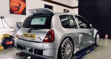 """""""Der Gerät"""": Renault Clio V6 mit KW Gewindefahrwerk – noch Fragen?"""