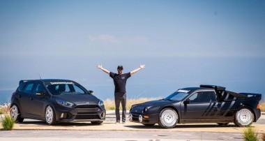 Ken Block's RS Boliden: Ford RS200 und Focus RS im Fokus und ein Teaser auf Gymkhana TEN