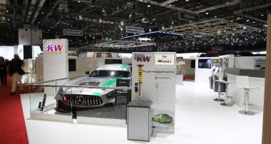 360° Tour über unseren Messestand auf dem 2018er Auto-Salon in Genf & weitere KW Highlights