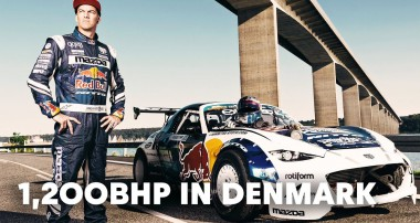 Quer in Dänemark: Mad Mike Whiddetts 1200 PS MX-5 im Hohen Norden