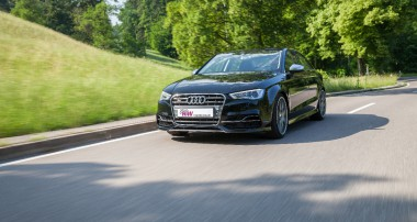 Neue KW Einstelltechnik ermöglicht Audi S3 Federn mit stufenloser Tieferlegung