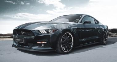 Wirkt immer: KW Gewindefahrwerk beim Ford Mustang LAE