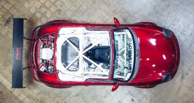 Go-Kart auf Steroide: ein Porsche Boxster als Tracktool!