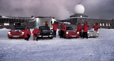 Luftgekühlt in den Hohen Norden: Porsche Club fährt im Winter ans Nordkap!